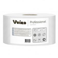 Туалетная бумага Veiro Professional Comfort 2 слоя 1360 листов 170 м 12 шт