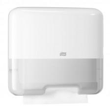 Мини-диспенсер для листовых полотенец Tork Singlefold ZZ С 553100 белый