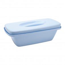Емкость-контейнер 5 л КДС-5 голубая 400х285х165 мм