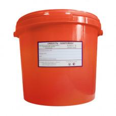 Контейнер для органических отходов Респект класс В 6 л красный