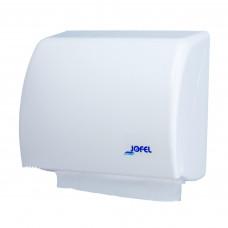 Диспенсер для полотенец в рулонах ZZ АН45000 пластик белый