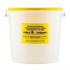 Контейнер для медицинских отходов Олданс класс Б 3 л желтый