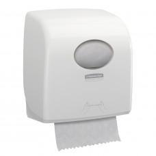 Диспенсер для рулонных полотенец Aquarius Slimroll 7955 белый