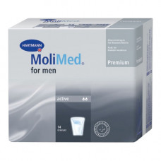 Прокладки для мужчин Molimed Premium for men active 1686007 14 шт