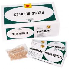 Иглы акупунктурные аурикулярные - ушные кнопки 0,2х1,5 мм 100 шт