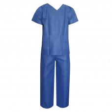 Комплект одежды хирургической - рубашка и брюки размер 56-58 спабонд нестерильный