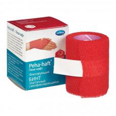 Бинт Peha-haft самофиксирующийся 4 см 4 м, красный