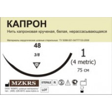 Капрон крученый М3 (2/0) 100м-КК