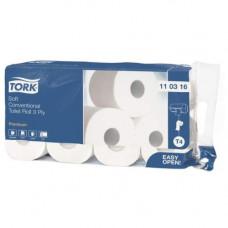 Туалетная бумага Tork 110316 ультрамягкая 3 слоя 29,5х9,4 см 250 листов белая 72 шт