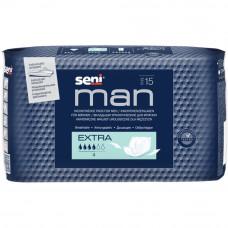 Прокладки урологические мужские Seni Man Extra 15 шт