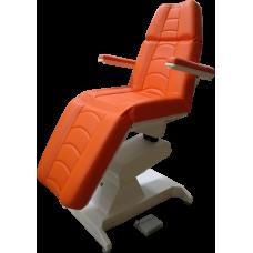 Кресло процедурное с электроприводом Ондеви-2 ОД-2 с прямыми откидными подлокотниками и ножной педалью управления (РУ)