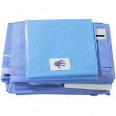 Комплект акушерский стерильный для приема родов ВИЧ-инфицированных больных