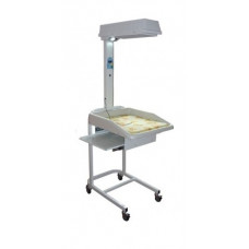 Стол для санитарной обработки новорожденных АИСТ-1 с матрасом
