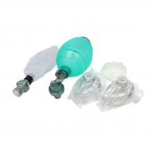 Комплект дыхательный для ручной ИВЛ тип Амбу Медплант КД-МП-В взрослый многоразовый