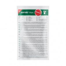 Dentiro Wipes салфетки дезинфицирующие для поверхностей 120 шт сменный блок