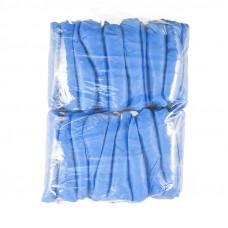 Бахилы текстурированные суперпрочные 6,5 г 80 мкм 50 пар
