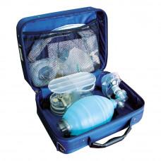 Аппарат дыхательный взрослый ручной Медплант АДР-МП-В с аспиратором многоразовый