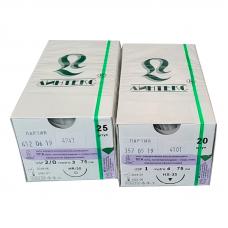 Нить ПГА плетеная (1) HR-40х2 90 см 20 шт