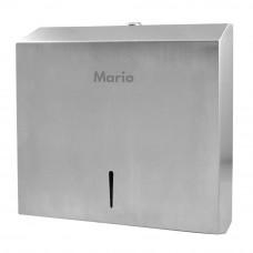 Диспенсер для бумажных полотенец Mario 9909  матовый металл