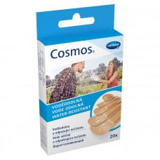 Пластырь Cosmos water resistant пять размеров 20 шт