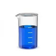 Стакан лабораторный В-1-1000 градуированный с носиком темное стекло