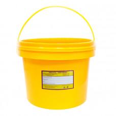 Бак для медицинских отходов Респект класс Б 12 л желтый с ручкой
