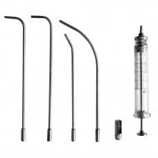 Шприц для внутригортанных вливаний с насадками В-Ш-14-5 5 мл
