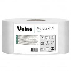 Туалетная бумага Veiro Professional Basic 1 слой 200 м 12 шт