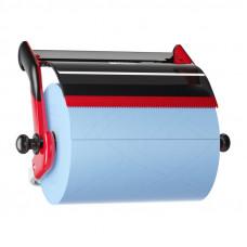 Диспенсер настенный для материалов в рулоне Tork 652108 красный