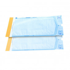 Пакет для паровой и газовой стерилизации самозаклеивающийся Клинипак 100х200 мм 200 шт