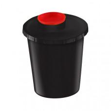 Контейнер для утилизации острого инструмента ЕК-01 КМ-Проект класс Г 3 л черный