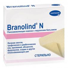 Повязка Branolind N с перуанским бальзамом стерильная 10х20 см 30 шт