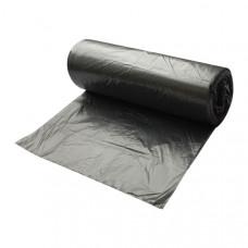 Мешки для мусора 30 л черные 30 шт