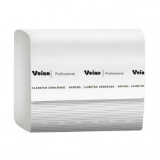 Салфетки Veiro Professional Comfort V-сложение 2 слоя 220 листов белые 15 шт