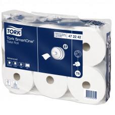 Туалетная бумага Tork SmartOne 472242 2 слоя 13,4 см 207 м 1150 листов 6 шт