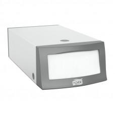 Диспенсер для салфеток 32х33 Tork 271600 серый