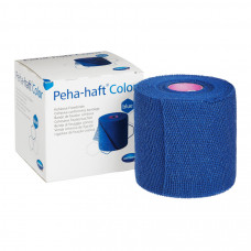Бинт Peha-haft самофиксирующийся 6 см 4 м синий