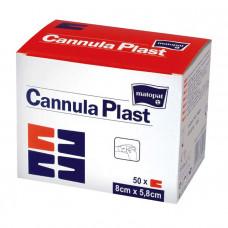 Повязка Cannula Plast для канюль стерильная 5,8х8 см 50 шт