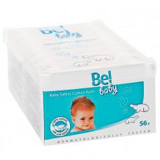 Ватные палочки Bel Baby safety buds безопасные детские 56 шт