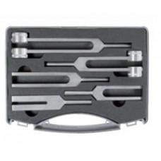 Набор из 5 алюминиевых камертонов в пластиковом чемоданчике