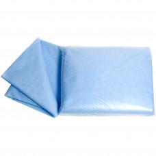 Простыня нестерильная 20 г/м 140х200 см голубая 10 шт