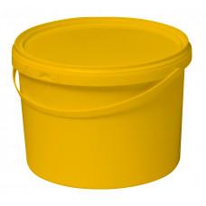 Бак для медицинских отходов КМ-проект класс Б 10 л желтый