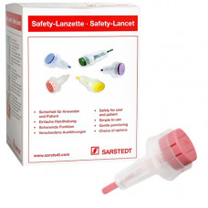 Ланцет Safety-Lancet неонатальный 1,2 мм розовый 200 шт