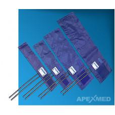 Манжета для тонометра Apexmed 25х4,5 см без кольца 2 трубки 1003-13-01