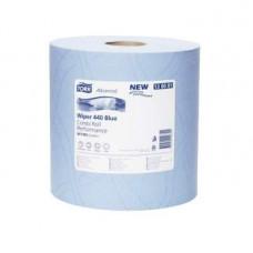 Материал протирочный Tork Advanced Wiper 440 Blue Performance 130081 3 слоя 24 см 119 м 350 листов 2 шт