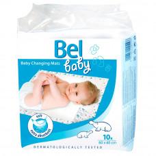 Пеленки впитывающие Bel Baby Changing Mats 60х60 см 10 шт
