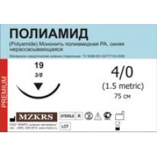 Нить Полиамид моно М1 (5/0) 75-ПАМ 20 шт
