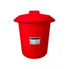Бак для медицинских отходов КМ-Проект класс В 12 л красный