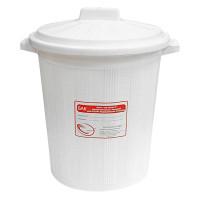 Бак для медицинских отходов КМ-проект класс А 20 л белый