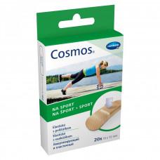 Пластырь Cosmos sport эластичный полиуретан 1,9х7,2 см 20 шт